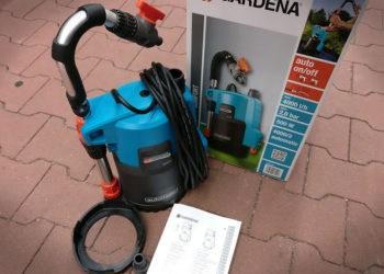 Regenfasspumpe Gardena 4000/2