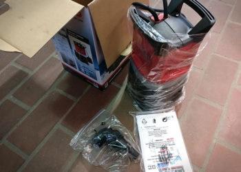 AL-KO Drain 10000 Comfort - Verpackung
