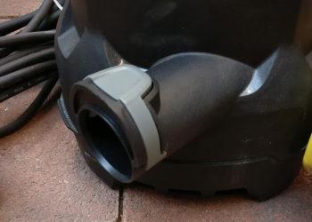 Tauchpumpe Kärcher SP3 Dirt - Absauganschluss