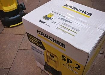 Kärcher Tauchpumpe SP2 flat - Karton