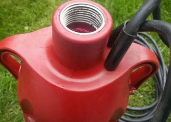 Einhell Tauchdruckpumpe GC-DW 900 N - Schlauchanschluss