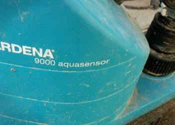 Tauchpumpe Gardena 9000 - Schmutzeinsatz